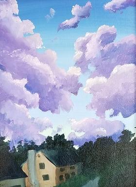 Evening Clouds by Jillian Masi