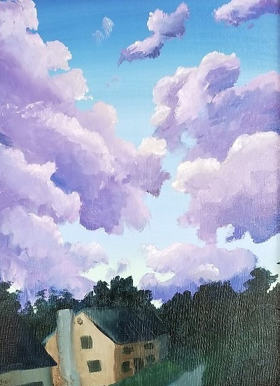 Evening Clouds by Jillian Masi