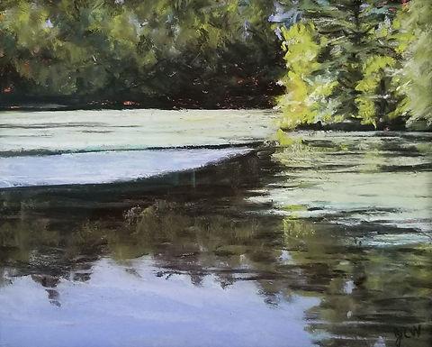 Summer Stillness by Jo Willoughby