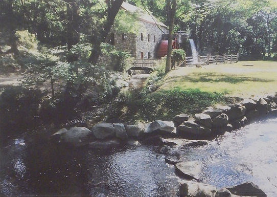 The Grist Mill Brook by Ed Roche