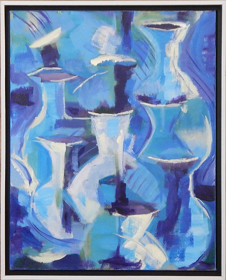 Blue Vessels II by Jan Durgin