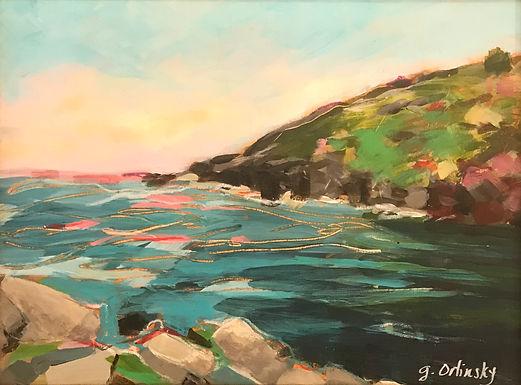 Manana Island View by Gillian Orlinsky