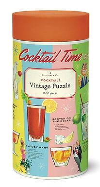 Cavallini & Co Vintage Cocktails 1000 pc Puzzle