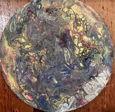 Earth Swirl by Terry Kessel Myers Coney-Sold