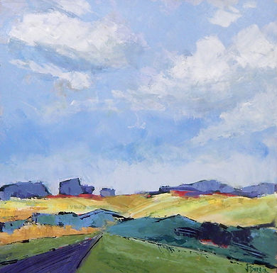 Field and Sky by Jan Durgin