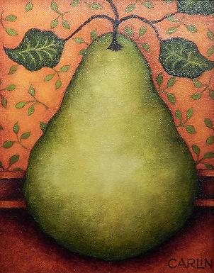Pear 3 by Sue Carlin
