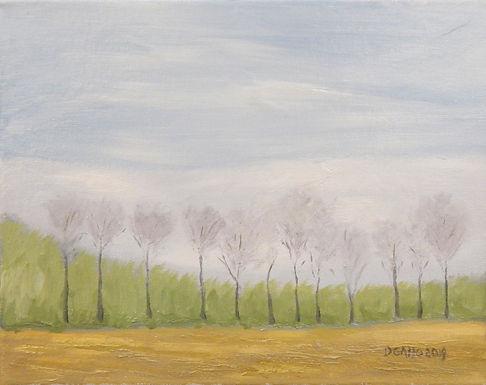Happy Trees by Diana Gallo