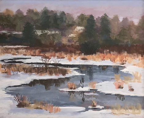 First Snowfall in Norfolk by Margaret L. Munson