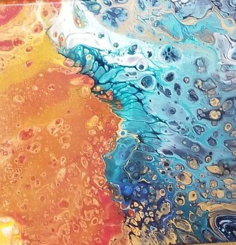 Pele vs Namaka by Marisa Murakami