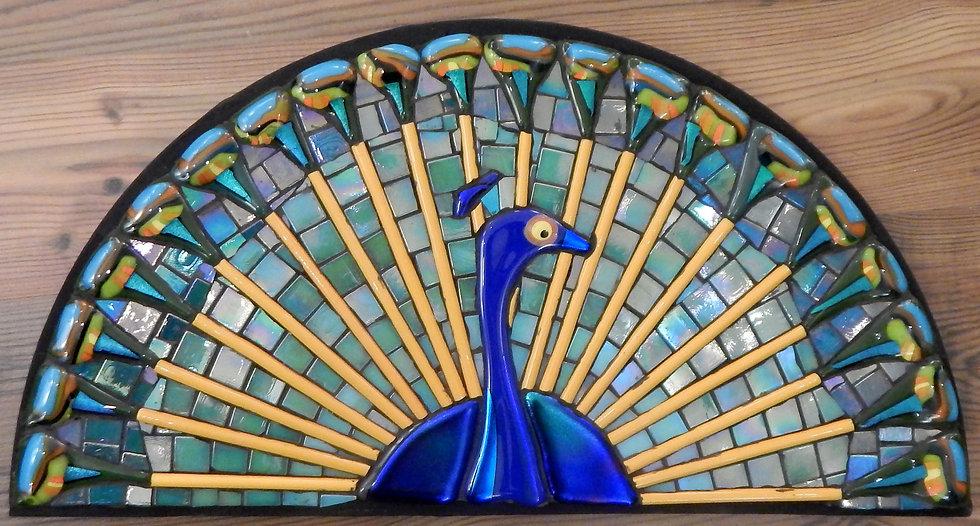 Peacock 1 by Martin Cheek