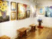 gallery, artwork for sale, framing, exhibit