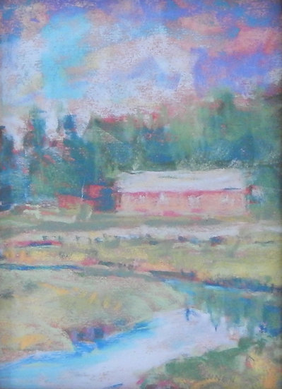 Drying Shed, Lebic, ME by Frank Bennett