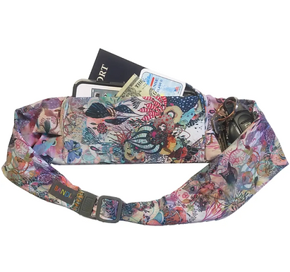 Large pocket belt, Coral Reef by BANDI wear