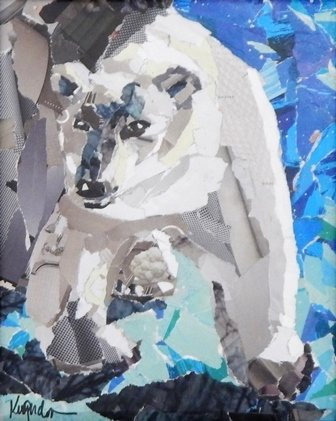 Polar Bear by Karen Gordon