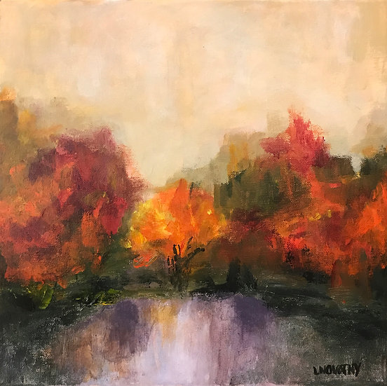 Autumn Reflections by Lois Novotny