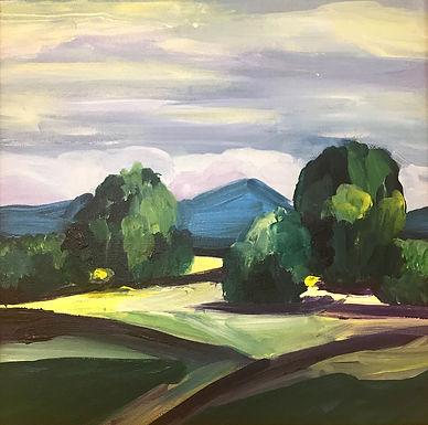 Blue Mountain by Pamela Malcuit