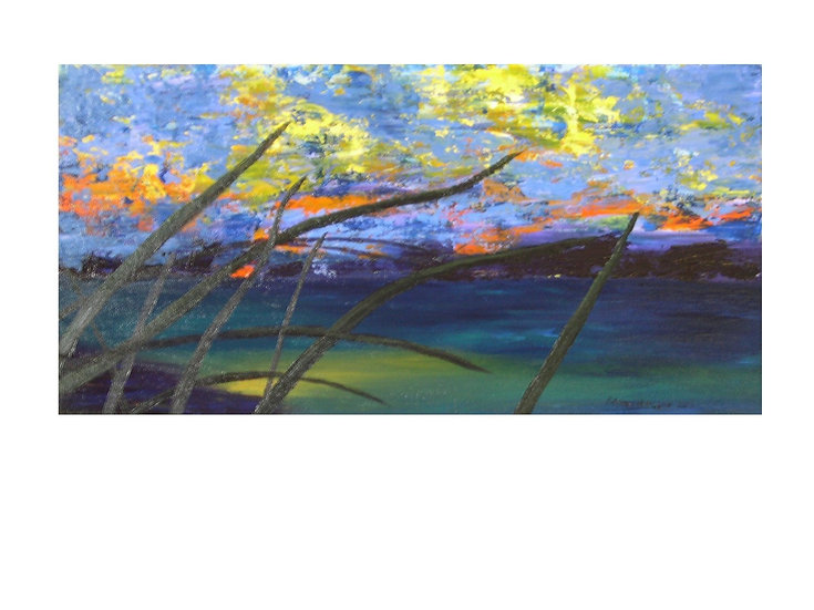 Sunset Grass - Sold