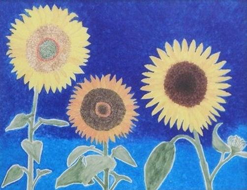 3 Sunflowers by Michael Ferriter