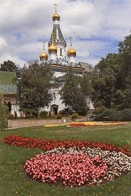 St. Nicholas Church - Sofia by Henry Febo