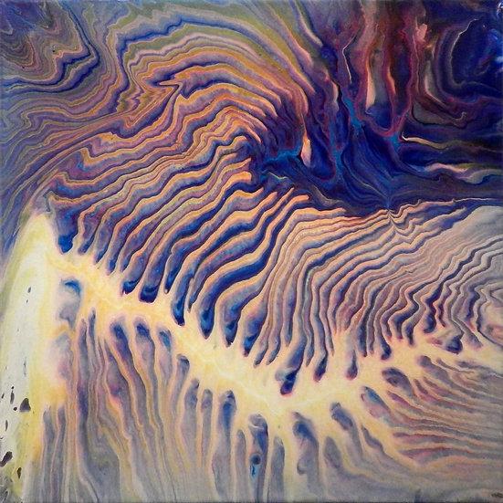 Paint Pour #8 by Jane Yates