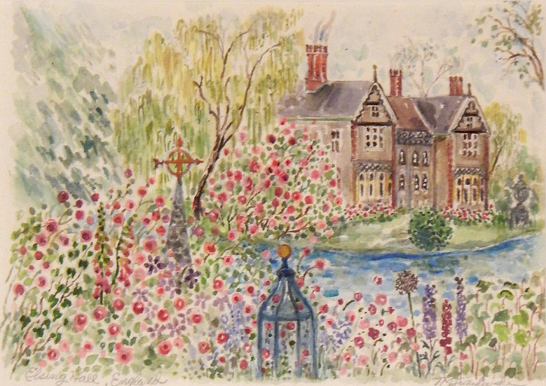 Elson Manor, England by Nancy Lavandowski