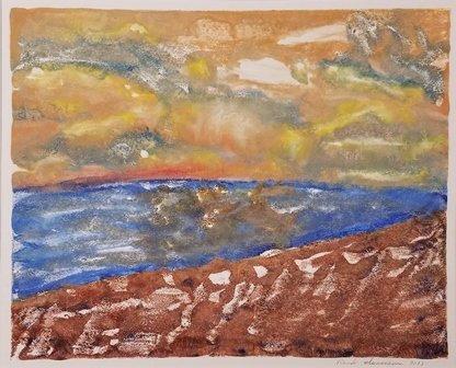 Herring Cove Sunset by Randi Isaacson