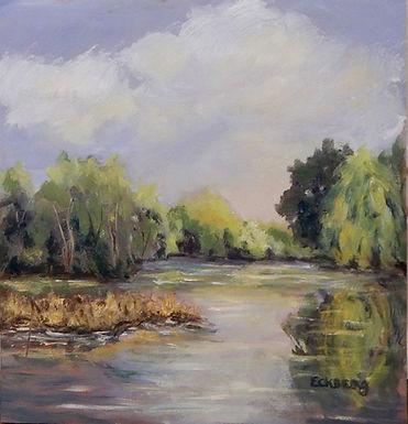 Charles River by Gail Eckberg