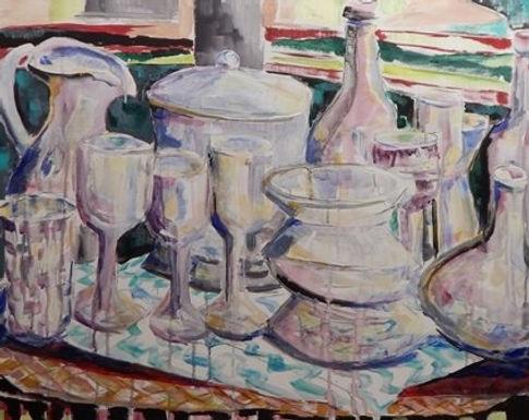 Glass, Glass, Glass by Mark Barnett