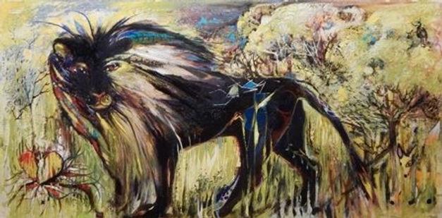 Leo in Hemlock Forest by Katalina Savola