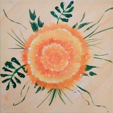 Sunset Marigold by Dorothy Alexander