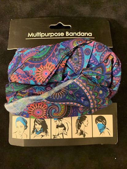 Multipurpose Headband Paisley