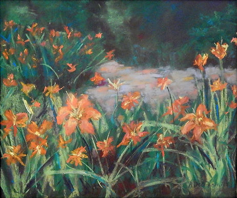 Day Lily Dance by Anne DeBenedictis