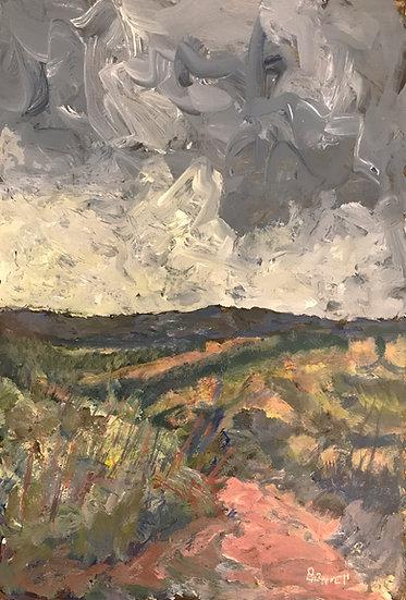 Storm Leaving Mt. Monadnock by Frank Bennett