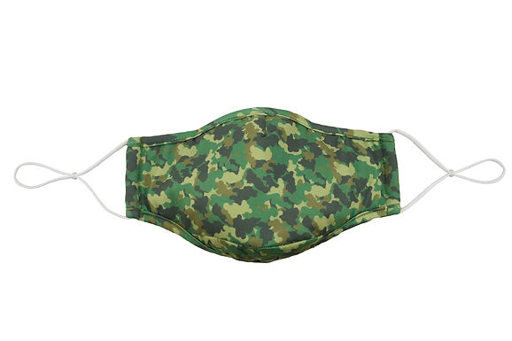 Reusable Face Mask by Snoozies!  Camo