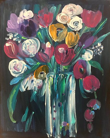 Bouquet of Flowers by Pamela Malcuit