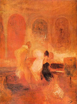 Music at Cowes Castle, Turner