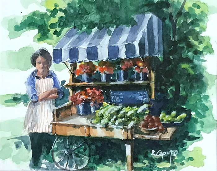 Roadside Stand by Ralph Caputo