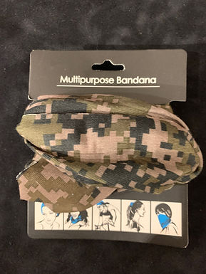 Multipurpose Headband Camo