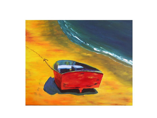 Red Dingy - Sold
