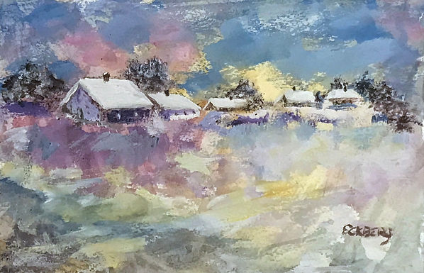 Soft Fallen Snow by Gail Eckberg