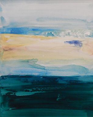 Vineyard Seascape by Grace Thorne