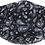 Thumbnail: Reusable Face Mask by Snoozies! Black Bandana