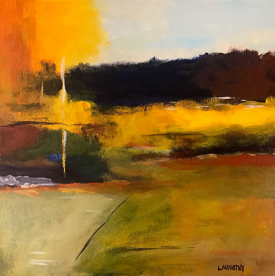 Abstract Landscape by Lois Novotny - Honorable Mention