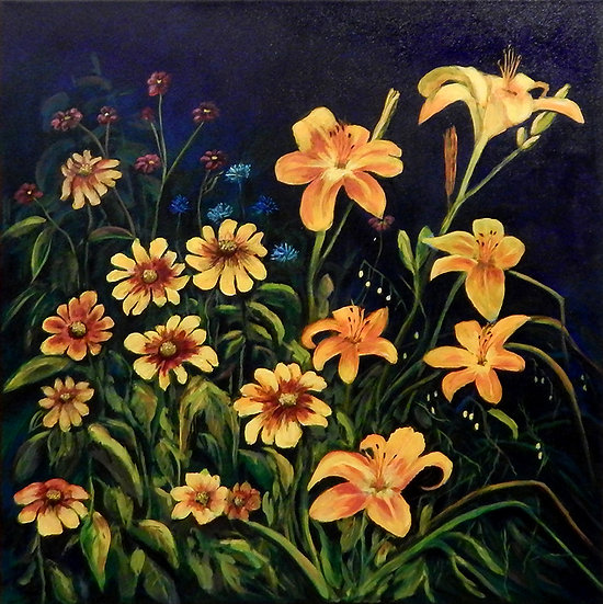 Cathy's Garden by Pam Grimes