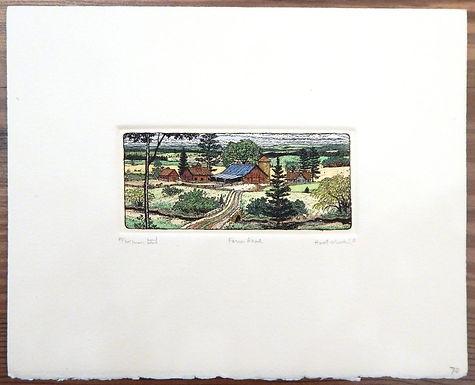 Farm Road by Susan Hunt-Wulkowicz