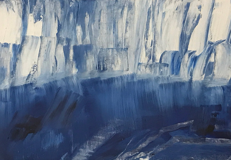 Glacier by Joan Rubin-Deutsch