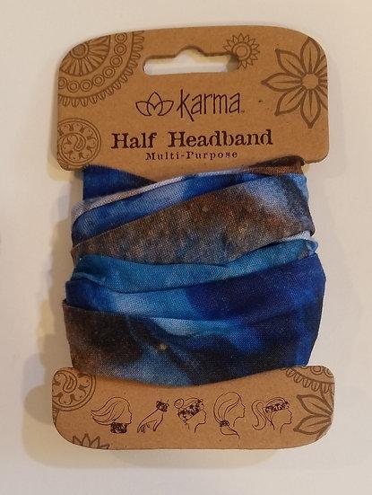Karma Half Headband - Marble