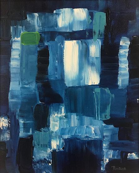Blue Water by Pamela Malcuit