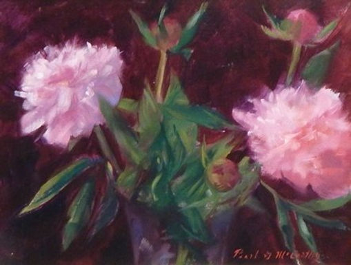 Pink Peonies by Pearl McCarthy - 1ST PLACE
