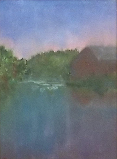 22. Evening at the Pond